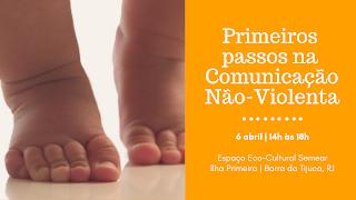 6 Abril, 14h: Primeiros Passos na Comunicação Não-Violenta