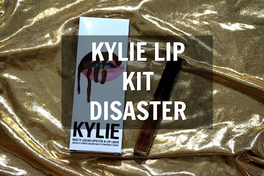 My disaster with Kylie Lip Kit in True Brown K