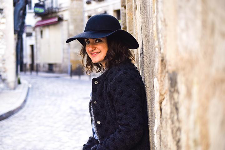 look hiver chapeau noir cheap monday