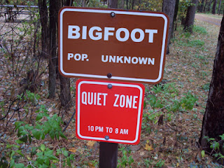 Bigfoot population sign