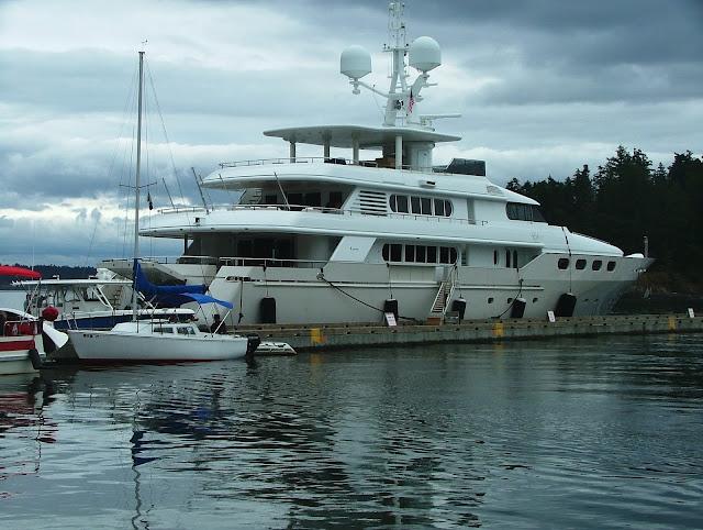 Friday Harbor breakwater 4th of July 2016  - 164 foot Eileen