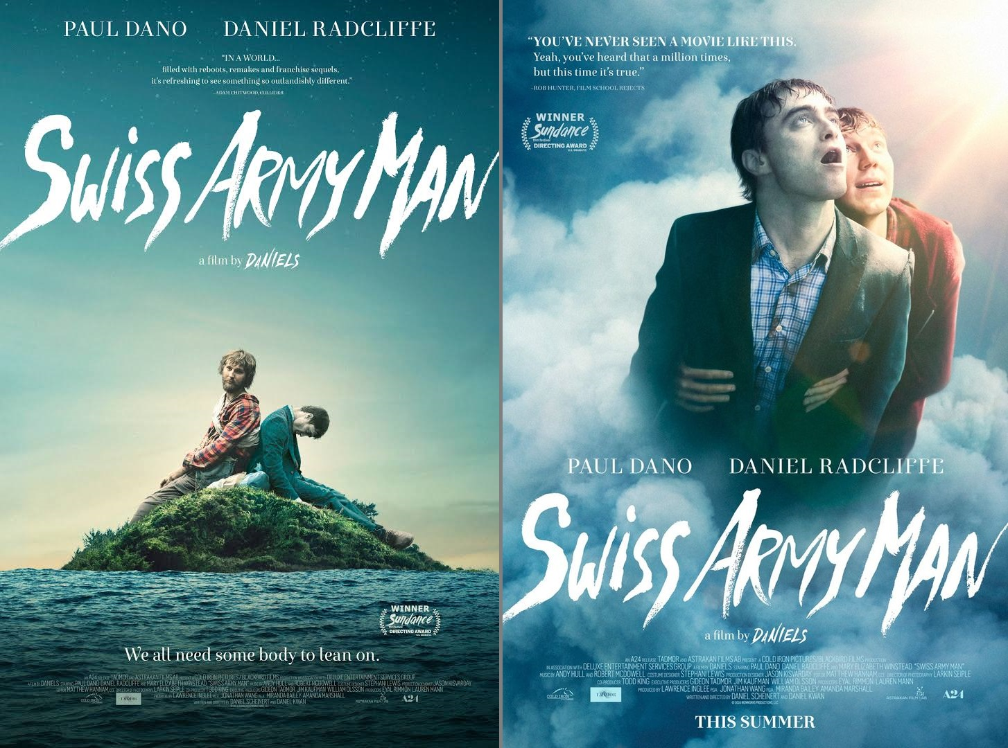 Eats Reads Amp Other Bits Movie Review Swiss Army Man