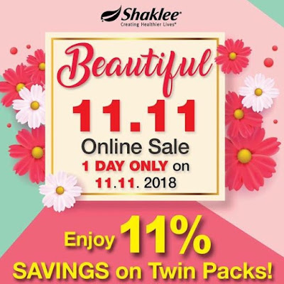 Shaklee 11.11 Shocking SALE