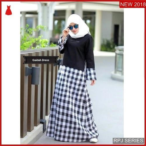 RPJ011D158 Model Dress Gaidah Cantik Dress Wanita