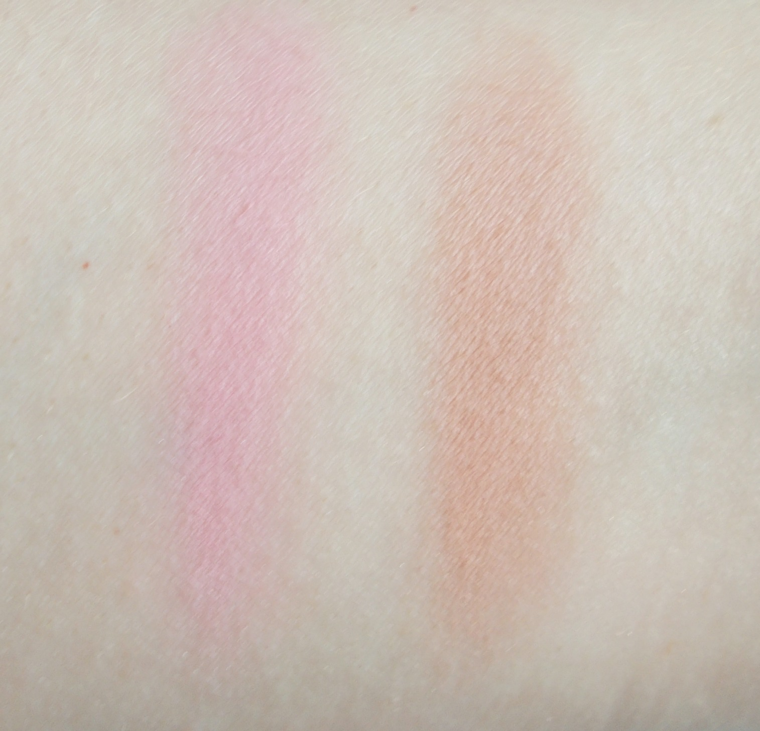 Stila Perfect Me Perfect Hue palette review blush swatches