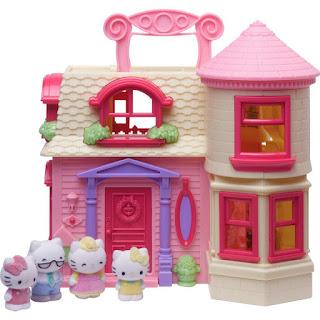Gambar Rumah Hello Kitty Mainan 9