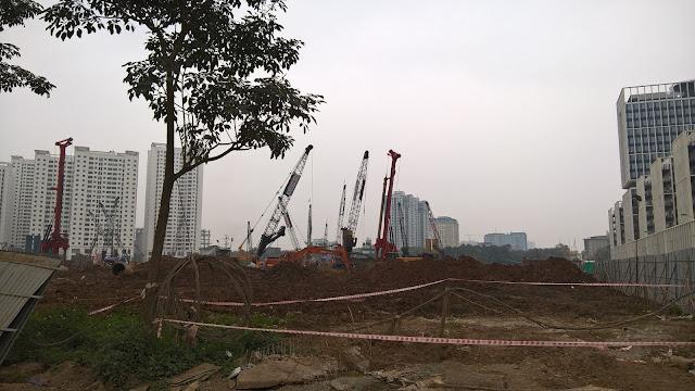 tiến độ thi công dự án an bình city