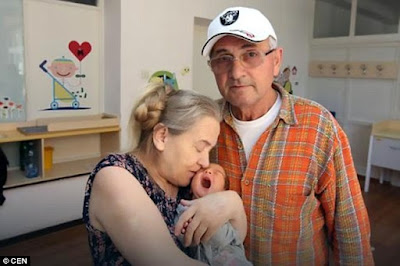 60-year-old Woman Who Gave Birth After 20 Years Of Infertility Is Abandoned By Husband After Delivery