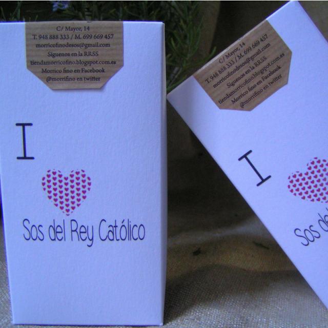 I Love Sos Del Rey Católico - Morrico Fino