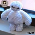 patron gratis bay max big hero amigurumi, free amiguru pattern bay max big hero