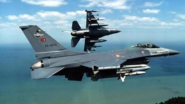 Πτήση δύο τουρκικών μαχητικών πάνω από τη νησίδα Λεβίθα