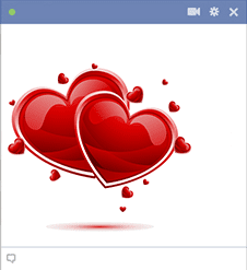 Beautiful Hearts For Facebook