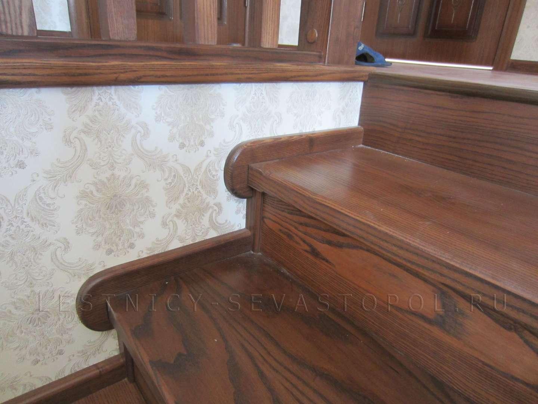 Деревянные ступени для лестниц купить
