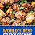 World's Best Sticky Sesame Cauliflower Bites #veggiedinner #vegan