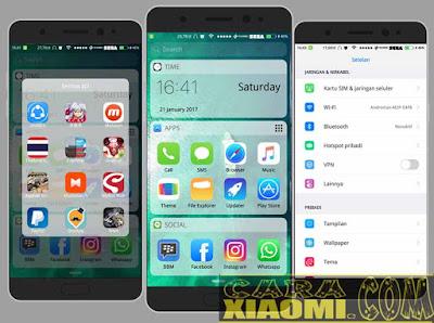 Tema MIUI Xiaomi xiOS White Theme mtz Terbaru
