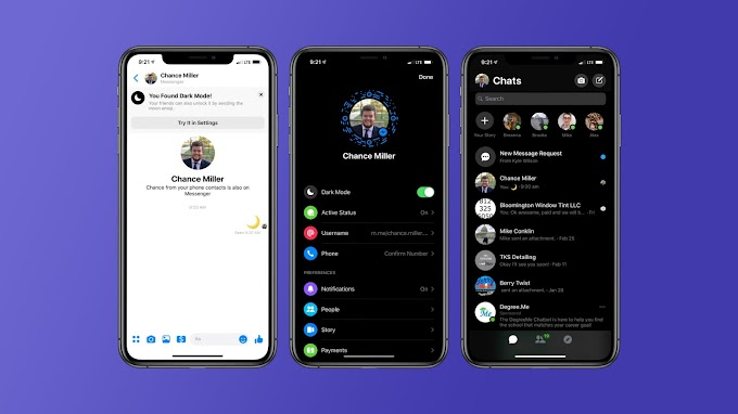 Cách bật chế độ nền tối Dark Mode trong Facebook Messenger