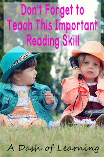 Don't Forget to Teach This Important Reading Skill: Phonemic Awareness