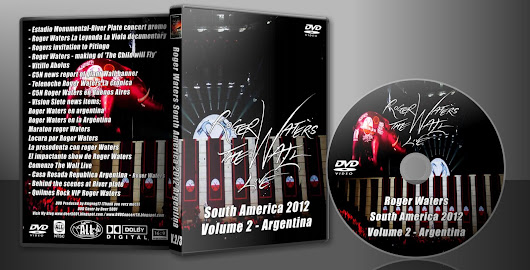 Roger Water South America 2012 DVD Vol 2 ARGENTINA