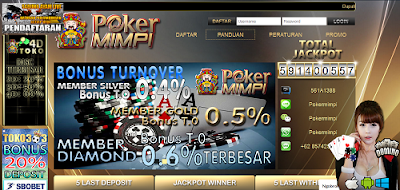 PokerMimpi.com Agen Poker Online Tanpa Robot