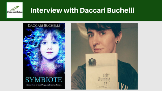 Interview with Daccari Buchelli, author of Symbiote
