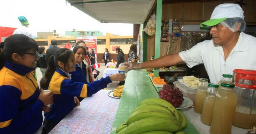 Lista de alimentos que podrán venderse en quioscos escolares, según R. M. N° 195-2019/MINSA