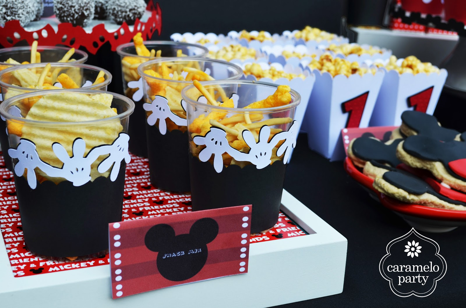 Caramelo Party Fiesta de Mickey