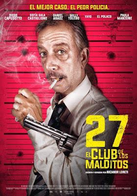 27 El Club De Los Malditos 2018 DVD R1 NTSC Latino