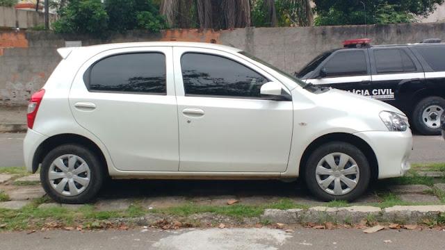 Guarda Civil Municipal de Vitória (ES) aborda veículo furtado e detém autor do ilícito.