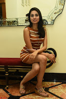 Actress Nikhita in Spicy Small Sleeveless Dress ~  Exclusive 003.JPG