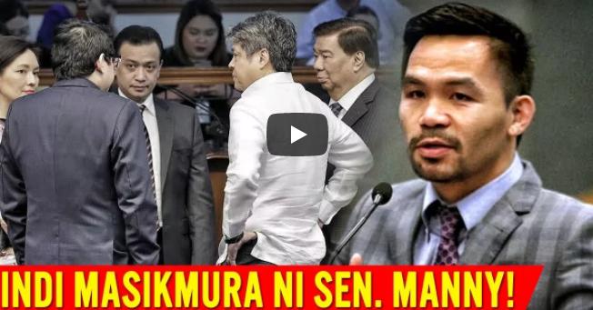 Sen. Manny Pacquiao Hindi Masikmura Ang Galawan Ng Mga Dilawan Panoorin