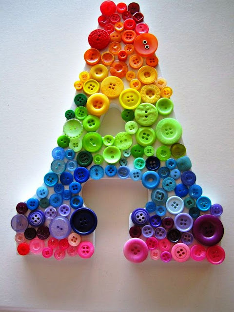 arts and crafts with number and alphabet