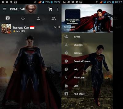 BBM MOD Super Man (Clone)