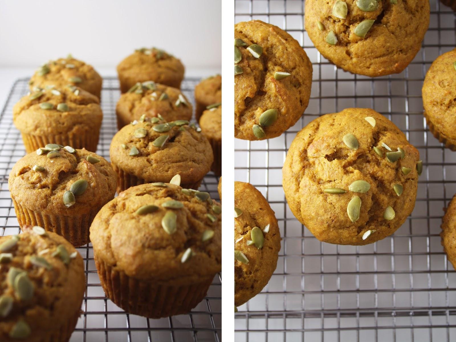 Pumpkin Muffins / Sevengrams