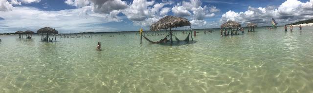 Panorâmica da Lagoa do Paraíso - Jericoacoara - Ceará