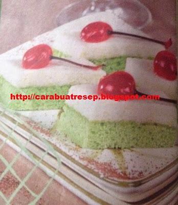 Foto Cake Lapis Puding Cempedak Kue Penutup Istimewa Idul Fitri