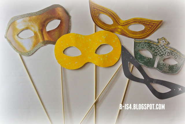 Masquerade Masks, Crafts