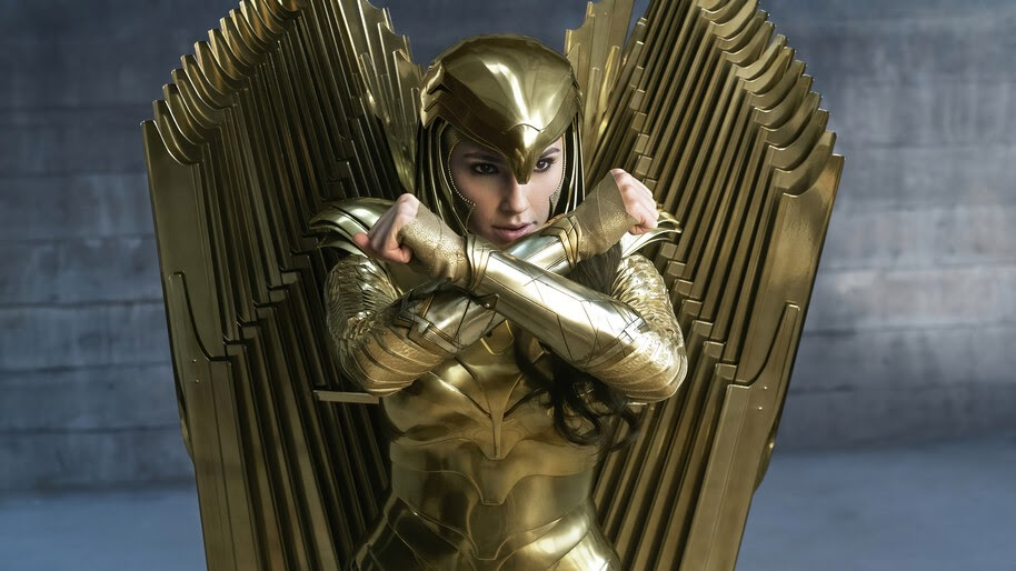 Wonder Woman 1984, Golden Eagle Armor, 8K, #3.2327