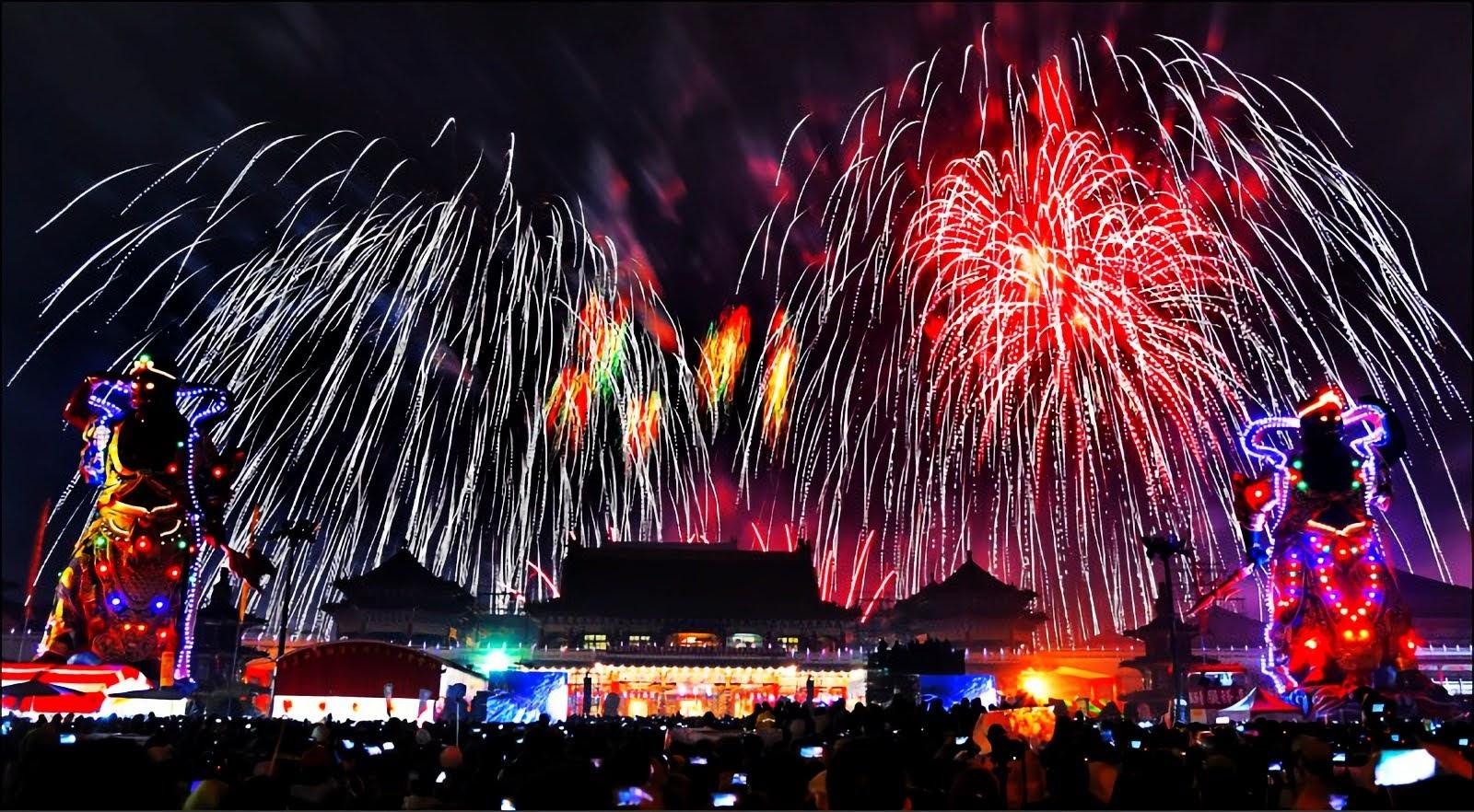 [活動] 鹿耳門聖母廟新春活動重頭戲|元宵節國際高空煙火秀2/8璀璨登場