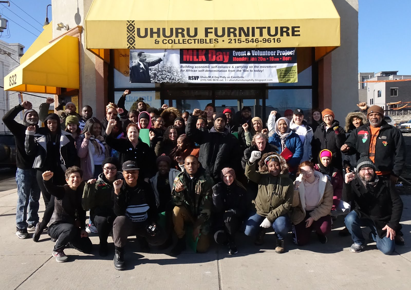 Best Uhuru MLK Day Philly Ever in 2020!