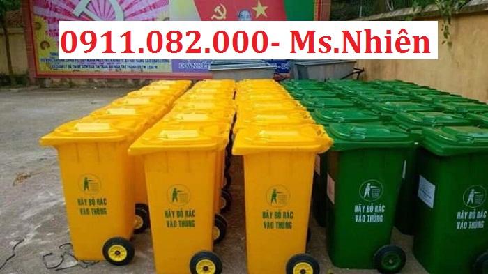 Chổ bán thùng rác 120 lít 240 lít 660 lít giá thấp