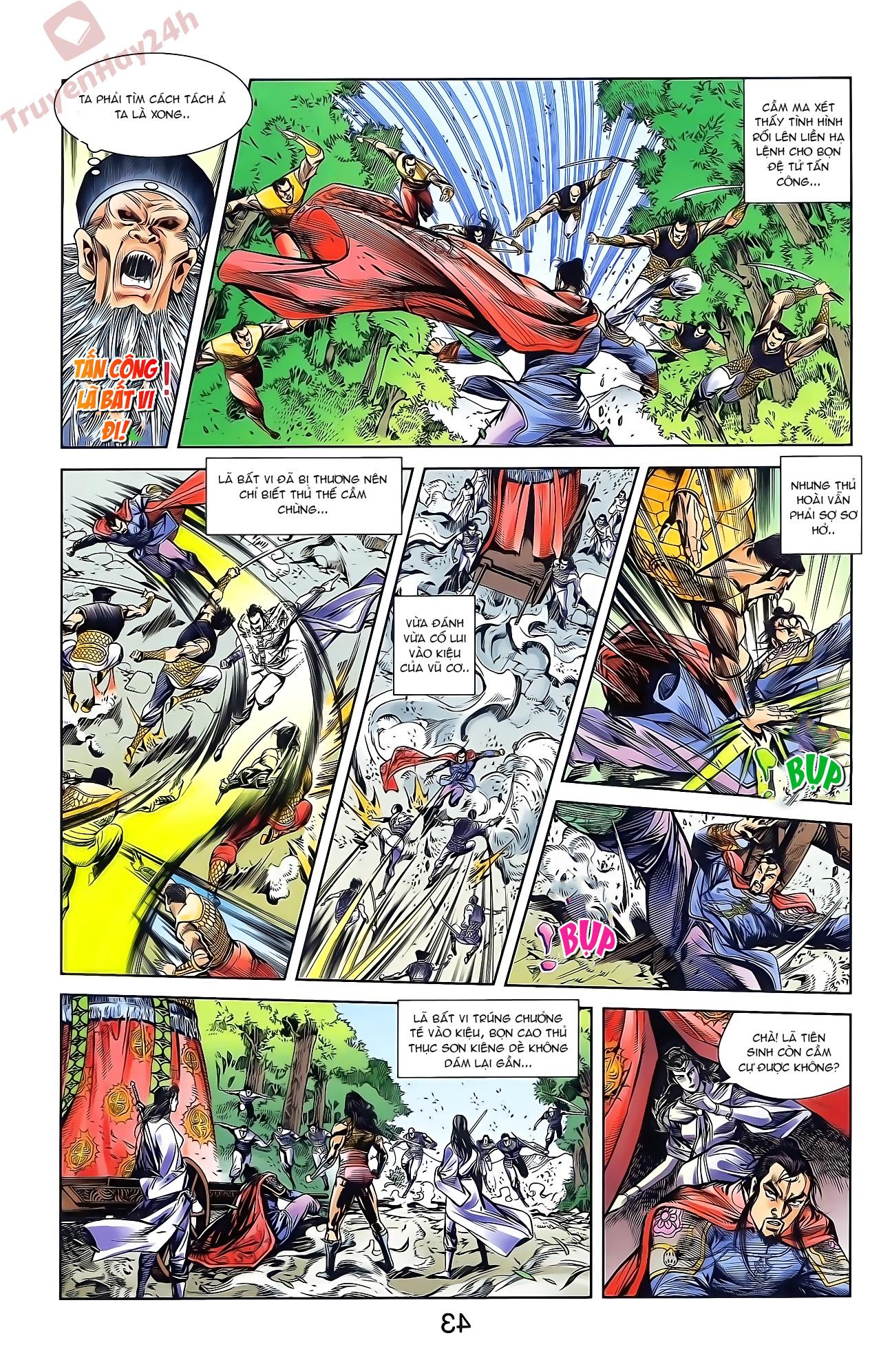Tần Vương Doanh Chính chapter 46 trang 9