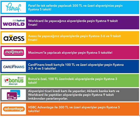 Banka Kampanyaları, World kart,kredi kartı taksit,QNB Finansbank,CardFinans ,Maximum kart,Bonus kredi kartı,Hepsiburada.com, Paraf kart taksit,kredi kartı taksit,