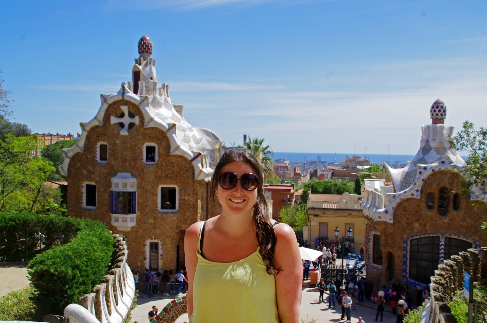 Simone at Park Guell