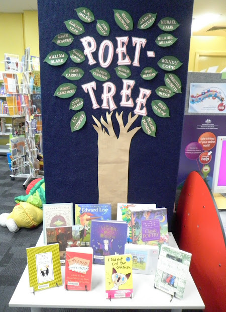 Poetry Library Display Ideas