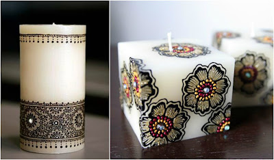 Heena Candles, Wedding gift