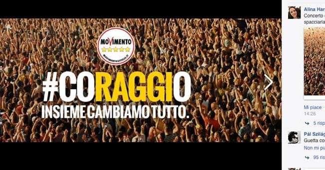 M5S spaccia foto concerto di David Guetta per sport Raggi