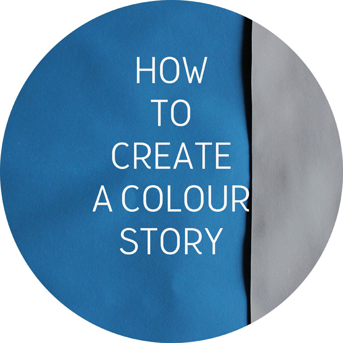 how to create a colour story http://www.archieandtherug.com/