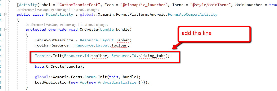 Xamarin Forms Made Easy: Using Font as Icon on Tabbed and Navigation