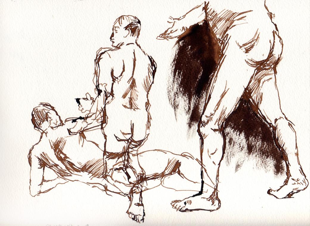 Life Drawing Page Three (2009)