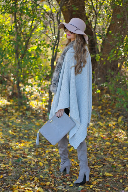 Sweets and Style Just Right: Poncho Perfection